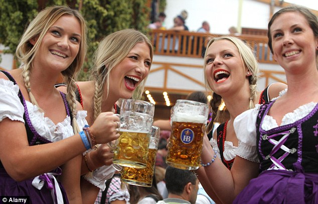Cheers! Germany's Oktoberfest - one of its popular events for international tourists