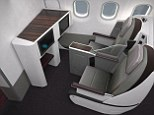 Leg room: Inside Qatar Airways' new all-business flight on its Airbus A319